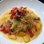 Spaghetti Squash Scampi