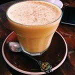 tumeric coconut latte (6$)
