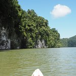 Canoeing on Rio Dulce
