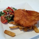 Chicken Schnitzel - the 'Plain Jane'