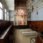 reproduction d'une vieille synagogue (Venise)
