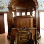 arche de l'officiant d'une vieille synagogue (Venise)