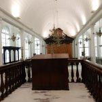 reproduction d'une vieille synagogue (Surinam)