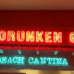 Two Drunken Goats neon sign