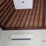 A/C and roof/ceiling