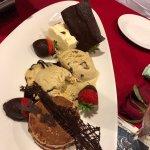 Share dessert plate - delicious