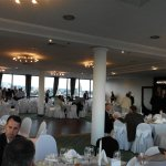 Restaurant at the top of the  Westin Hotel, Zagreb