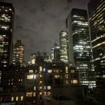 The city that never sleeps: view from the room at 3AM