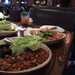 Delicious lettuce wrap and Sati