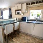 Sublime Hot Tub Caravan at Oakdene Forest Park - The kitchen