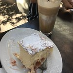 Aussies Enjoyed Afternoon Coffee at Just Fine Food Sorrento