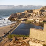 View of the Sutro Baths (ruins).