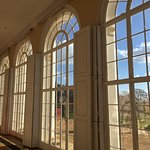 the windows at the Orangerie