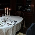 Lovely candlelit table