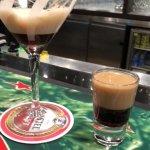 Espresso Martini and Baby Guinness