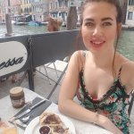 Breakfast by the canal each morning!