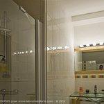 "salle de bains de la chambre "" Green"""