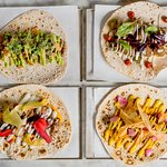 A selection of our beautiful kebabs, all made with seasonal, local ingredients