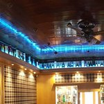 Lounge ceiling Whisky Display