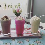 Ice cream milkshakes