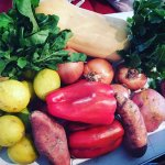 Las verduras dicen presente
