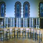 The Church Brew Work also offers a full service bar & is proud to offer premium spirits & fine
