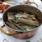 Razor clams at Cervejaria Ramiro