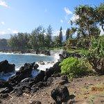 Road to Hana Lava Beach