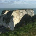 Opposite side to Harrys Rocks
