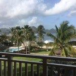 View from 1 bedroom butler suite