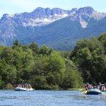 Navegando por el río Manso