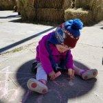 2017 Kids Fall Fest. Sidewalk chalk art!