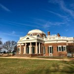 Back porch of Monticello