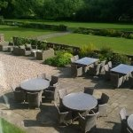 Bartley Lodge Outdoor Terrace