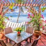 Premier Seaview Suite patio/balcony area