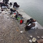 Photo of Shoes on the Danube Bank