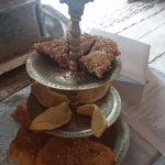 Pastries and tea @ tea room
