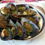 Moules farcies ... Humm
