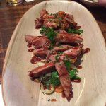 Iberian Pork with Vegetables--Yum!