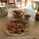 Excellent ceviche and cold beer