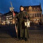 Der Treffpunkt der Tour: Rolandstatue am Marktplatz
