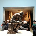 The Thinker statue 1