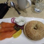 Lox and cream cheese are excellent!!!