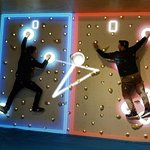 First interactive climbing wall in Australia! Come in and have a play!