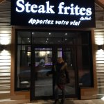 Photo de steak frites