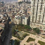 Hotel Royal Macau - view of park and city