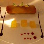 Crepe desert at the French Restaurant