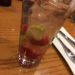 Very good strawberry rum mojito! Doesn't look as pictured on menu but excellent mix.