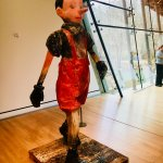 Pinocchio Sculpture was a wonderful find! Great story on his Italian roots presented.