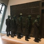 Great Depression Bread Lines Sculpture. So powerful.